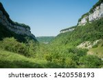 Mountains of France - Panorama view from Baumes-les-messieurs