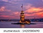 Fiery Sunset Over Bosphorus...