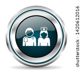 doctor vector icon. chrome...   Shutterstock .eps vector #1420612016