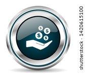 vector icon. chrome border...   Shutterstock .eps vector #1420615100