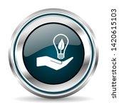 vector icon. chrome border...   Shutterstock .eps vector #1420615103