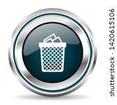 vector icon. chrome border...   Shutterstock .eps vector #1420615106
