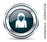 profile avatar vector icon....   Shutterstock .eps vector #1420615136