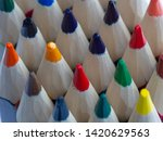 coloured pencils. best colored...   Shutterstock . vector #1420629563