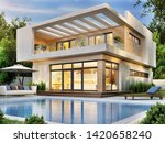 Beautiful Modern House With A...