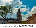 tower of the dominican... | Shutterstock . vector #1420712309
