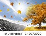 Autumn Landscape With Solar...