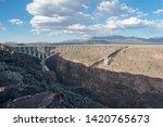 Bridge Over Canyon  Rio Grande
