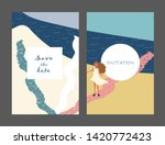 creative universal artistic... | Shutterstock .eps vector #1420772423