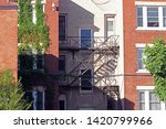 Old Style Apartment Building On ...