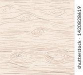light brown wooden cutting ... | Shutterstock .eps vector #1420828619