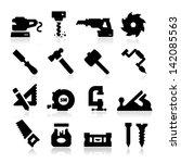carpentry icons | Shutterstock .eps vector #142085563