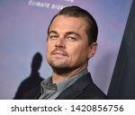 los angeles   jun 05   leonardo ... | Shutterstock . vector #1420856756
