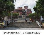 panama city  panama   march 03  ...   Shutterstock . vector #1420859339