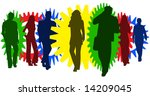 illustration of business people | Shutterstock .eps vector #14209045