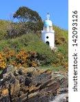 vintage lighthouse | Shutterstock . vector #142093126