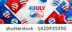 4th of july poster template.usa ... | Shutterstock .eps vector #1420935350