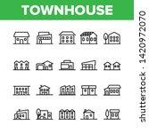 townhouses  residential... | Shutterstock .eps vector #1420972070