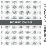 commerce and shopping vector... | Shutterstock .eps vector #1420993436
