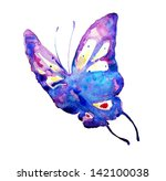 Watercolor Butterfly