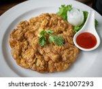 Thai Style Shrimp Omelette And...