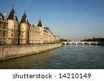 la conciergerie on the seine... | Shutterstock . vector #14210149