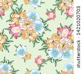 abstract elegance seamless... | Shutterstock .eps vector #1421020703