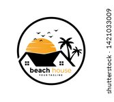 Beach House Real Estate Logo