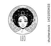 Leo Zodiac Sign Artwork  Adult...