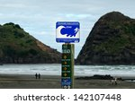 piha  nz   may 30 tsunami... | Shutterstock . vector #142107448
