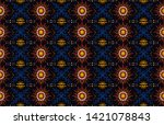 seamless floral pattern....   Shutterstock .eps vector #1421078843