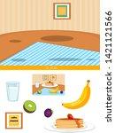 educational children game ...   Shutterstock .eps vector #1421121566