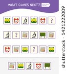 what comes next educational...   Shutterstock .eps vector #1421222009