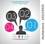 original style infographic with ...   Shutterstock .eps vector #142125433
