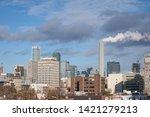 toronto skyline  with a... | Shutterstock . vector #1421279213