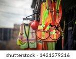 personal protective equipments... | Shutterstock . vector #1421279216