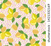 vector seamless pattern with... | Shutterstock .eps vector #1421332169