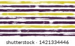 tartan watercolor brush stripes ... | Shutterstock .eps vector #1421334446