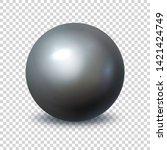 pearl. realistic single 3d...   Shutterstock .eps vector #1421424749