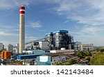 construction of a new coal... | Shutterstock . vector #142143484