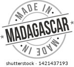 made in madagascar quality... | Shutterstock .eps vector #1421437193