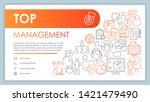 top management banner  business ...