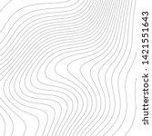 contour vector illustration.... | Shutterstock .eps vector #1421551643