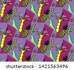 vector decoration seamless... | Shutterstock .eps vector #1421563496