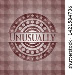 unusually red seamless emblem... | Shutterstock .eps vector #1421584736