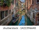 Gondolier Sunset Venice Painterly - Fine Art prints