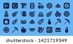 juicy icon set. 32 filled juicy ...   Shutterstock .eps vector #1421719349