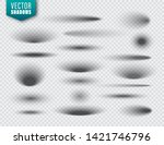 vector shadows set on... | Shutterstock .eps vector #1421746796