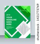 annual report brochure flyer... | Shutterstock .eps vector #1421773769