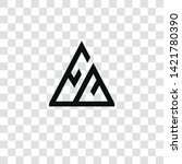 mountain icon from... | Shutterstock .eps vector #1421780390